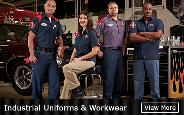 Industrial Uniforms & Work Wear